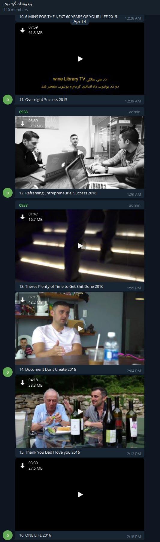 پروژه جمع سپاری ویدئوهای گری وی