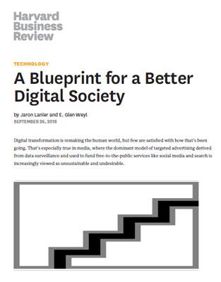 مقاله data dignity از جارون لنیر