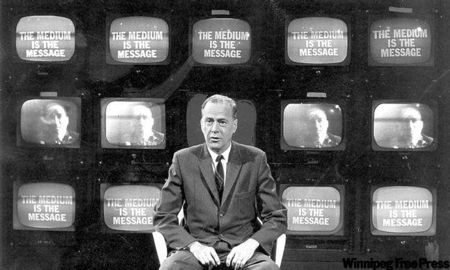 رسانه پیام است