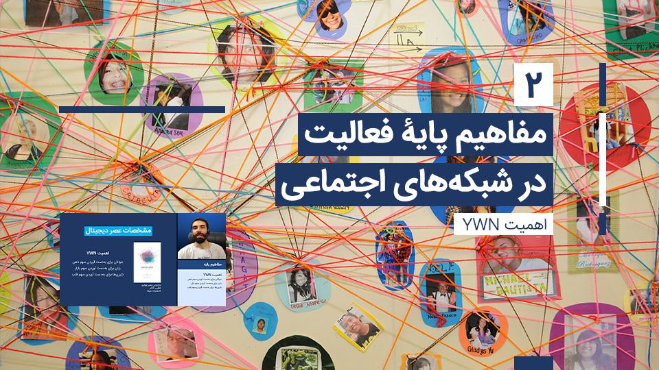 مفاهیم پایه شبکه های اجتماعی 2