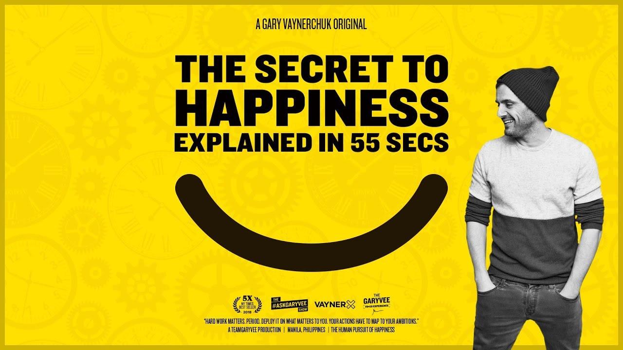 گری وی - راز خوشبختی و شادی