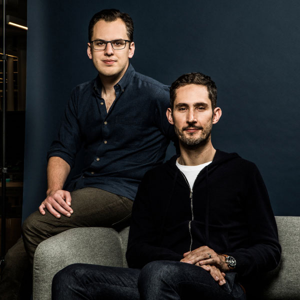کوین سیستروم و مایک کرایگر بنیانگذاران اینستاگرام